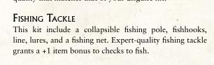 Fishing Skill check
